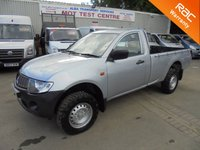 USED 2006 56 MITSUBISHI L200 Single Cab 2.5 4WORK LWB 4WD *RARE SINGLE CAB*