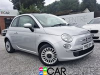 USED 2011 61 FIAT 500 1.2 LOUNGE 3d 69 BHP FULL GLAS PANORAMIC ROOF