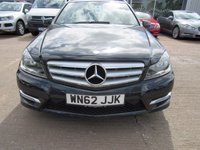USED 2012 62 MERCEDES-BENZ C CLASS 2.1 C250 CDI BLUEEFFICIENCY AMG SPORT 5d AUTO 202 BHP
