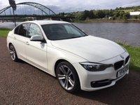 2014 BMW 3 SERIES 2.0 320D SPORT 4d AUTO 184 BHP £13990.00