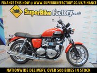 USED 2012 62 TRIUMPH BONNEVILLE 865  GOOD & BAD CREDIT ACCEPTED, OVER 500+ BIKES