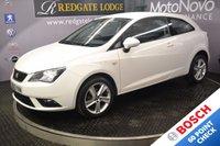 2013 SEAT IBIZA 1.4 TOCA 3d 85 BHP £5494.00