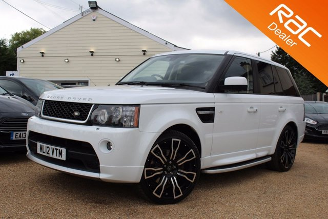 View our 2012 12 LAND ROVER RANGE ROVER SPORT 3.0 SDV6 HSE 5d AUTO 255 BHP