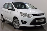 USED 2013 62 FORD GRAND C-MAX 1.6 GRAND TITANIUM TDCI 5d 114 BHP