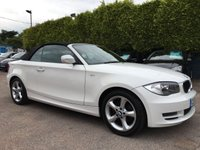USED 2010 60 BMW 1 SERIES 2.0 118D SPORT 2d CONVERTIBLE WITH LOW MILEAGE NO DEPOSIT FINANCE ARRANGED, APPLY HERE NOW