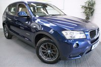 USED 2011 11 BMW X3 2.0 XDRIVE20D SE 5d 181 BHP