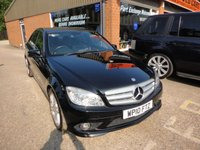 USED 2010 10 MERCEDES-BENZ C CLASS 2.1 C220 CDI BLUEEFFICIENCY SPORT 4 DOOR 170 BHP IN BLACK APPROVED CARS ARE PLEASED TO OFFER THIS MERCEDES-BENZ C CLASS 2.1 C220 CDI BLUEEFFICIENCY SPORT 4 DOOR SALOON 170 BHP IN BLACK WITH A GREAT SPEC INCLUDING SAT NAV,PARKING SENSORS AND MUCH MORE ALONG  WITH A FULL MERCEDES SERVICE HISTORY SERVICED AT 15K,31K,47K,62K,64K.73K AND 80K