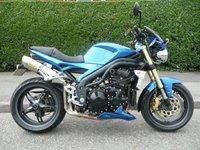 2006 TRIUMPH SPEED TRIPLE 1050 £4495.00
