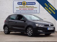 USED 2014 14 VOLKSWAGEN POLO 1.2 MATCH EDITION 5D Full Service History One Owner 0% Deposit Finance Available