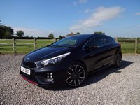 USED 2014 14 KIA PRO_CEE'D 1.6 PRO CEED GT 3d 201 BHP 1 PRIVATE OWNER + RECARO SEATS  + 201 BHP TURBO