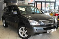 USED 2009 09 LEXUS RX 3.3 400H SR 5d 208 BHP FULL BLACK LEATHER SEATS + FULL SERVICE HISTORY + SAT NAV + REVERSE CAMERA + ELECTRIC TAILGATE + CRUISE CONTROL + HEATED SEATS + 18 INCH ALLOYS