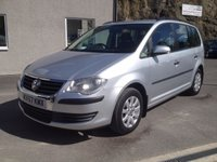 USED 2007 57 VOLKSWAGEN TOURAN 1.9 S TDI 5d 103 BHP *LADY OWNED**7 SEATS**TURBO DIESEL**VERY CLEAN**