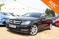 USED 2012 12 MERCEDES-BENZ C CLASS 2.1 C220 CDI BLUEEFFICIENCY AMG SPORT 2d AUTO 170 BHP Parking Sensors, Bluetooth & xenons