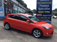 USED 2014 14 FORD FOCUS 1.6 ZETEC TDCI 5d 113 BHP, only 19600 miles *****FINANCE ARRANGED*****