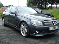 USED 2010 60 MERCEDES-BENZ C CLASS 1.8 C180 CGI BLUEEFFICIENCY SPORT 4d AUTO 156BHP 1 OWNER+FSH 5STAMPS+2 KEYS+