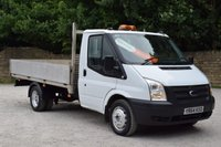 USED 2014 64 FORD TRANSIT 2.2 350 DRW 1d 99 BHP