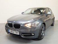 2013 BMW 1 SERIES 2.0 116D SPORT 5d 114 BHP £9980.00