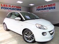 USED 2015 15 VAUXHALL ADAM 1.2 JAM 3d 69 BHP Full Vauxhall Service History, Bluetooth , 1 Owner from new