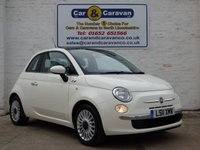USED 2011 11 FIAT 500 1.2 LOUNGE 3d 69 BHP Full Dealer History Pan Roof 0% Deposit Finance Available