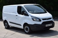 2014 FORD TRANSIT CUSTOM 2.2 290 LR P/V 5d L1 99 BHP SWB FWD ECO-TECH DIESEL MANUAL PANEL VAN  £8750.00