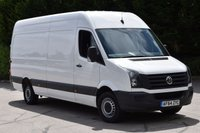 2014 VOLKSWAGEN CRAFTER 2.0 CR35 TDI H/R 5d 163 BHP LWB RWD DIESEL PANEL MANUAL VAN £11490.00