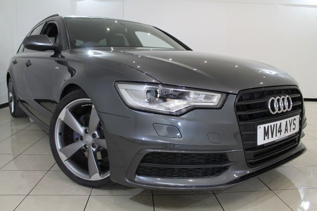 View our 2014 14 AUDI A6 2.0 AVANT TDI S LINE BLACK EDITION 5DR AUTOMATIC 175 BHP