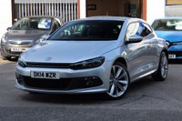 2014 VOLKSWAGEN SCIROCCO R-LINE 2.0 TDI 177ps 3dr Coupe £14490.00