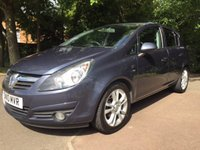 USED 2010 10 VAUXHALL CORSA 1.4 SXI A/C 5d 98 BHP