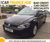 USED 2013 13 VOLKSWAGEN GOLF SE TDI BLUEMOTION TECHNOLOGY