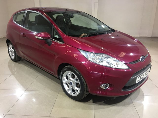 View our 2012 12 FORD FIESTA 1.2 ZETEC 3d 81 BHP
