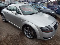 USED 2001 Y AUDI TT 1.8 QUATTRO 3d 221 BHP LEATHER, BOSE, XENONS, HEATED SEATS, F.S.H