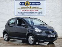 USED 2010 10 TOYOTA AYGO 1.0 BLACK VVT-I 5d 67 BHP Full Service History HPI Clear   0% Deposit Finance Available