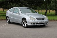 2005 MERCEDES-BENZ C CLASS 1.8 C180 KOMPRESSOR SE SPORTS 3d 141 BHP £2490.00