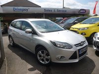 USED 2013 63 FORD FOCUS 1.6 ZETEC 5d AUTO 124 BHP PLEASE CALL TODAY FOR TEST DRIVE ALL CARS AA INSPECTED
