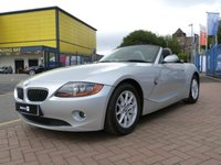 "USED 2004 54 BMW Z4 2.2 Z4 SE ROADSTER 2d 168 BHP FULL SERVICE HISTORY ~ AIR CON ~ 16"" ALLOYS ~ POWER HOOD"