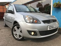 USED 2006 56 FORD FIESTA 1.2 ZETEC CLIMATE 16V 3d 78 BHP LOW MILEAGE!! AIR CON!