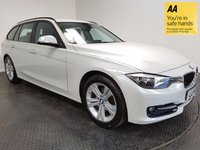 USED 2014 14 BMW 3 SERIES 1.6 316I SPORT TOURING 5d AUTO 135 BHP FSH-1 OWNER-LOW MILEAGE-BLUETOOTH