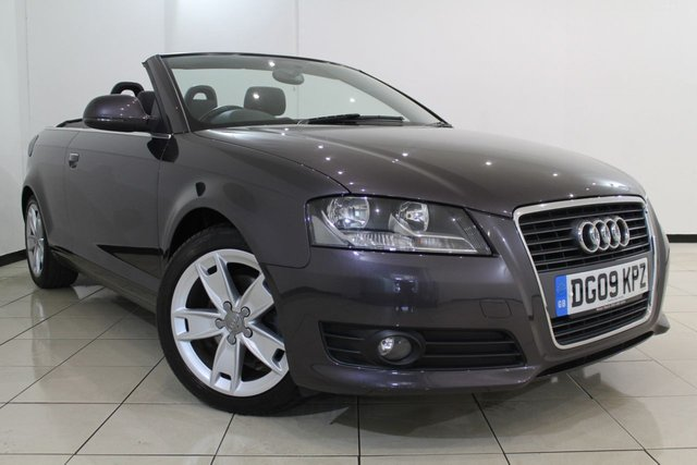 View our 2009 09 AUDI A3 1.8 TFSI SPORT 2DR AUTOMATIC 158 BHP