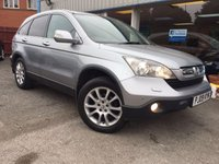 USED 2009 09 HONDA CR-V 2.2 I-CTDI EX 5d 139 BHP LEATHER, SAT NAV, PAN ROOF, PARKING SENSORS