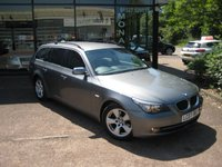 2007 BMW 5 SERIES 2.0 520D SE TOURING 5d 161 BHP £3990.00