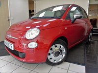 USED 2013 13 FIAT 500 0.9 COLOUR THERAPY 3d 85 BHP