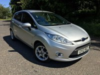 2012 FORD FIESTA 1.4 ZETEC 16V 5d 96 BHP PLEASE CALL TO VIEW £SOLD