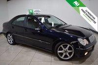 2005 MERCEDES-BENZ C CLASS 2.1 C220 CDI SPORT EDITION 4d AUTO 148 BHP £3995.00