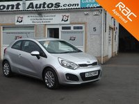 USED 2012 62 KIA RIO 1.4 2 3d 107 BHP Low Mileage , Bluetooth & Alloys