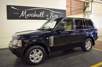 USED 2006 06 LAND ROVER RANGE ROVER 3.0 TD6 VOGUE 5d AUTO 175 BHP