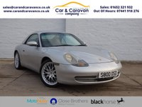 USED 1998 S PORSCHE 911 3.4 CARRERA CABRIOLET 2d 300 BHP Classic Sports Car Leather A/C Dealer and Specialist History