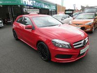 USED 2013 13 MERCEDES-BENZ A CLASS 1.5 A180 CDI BLUEEFFICIENCY AMG SPORT 5d 109 BHP AMG LINE 5 DOOR HATCHBACK DIESEL