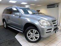 USED 2012 04 MERCEDES-BENZ GL CLASS 3.0 GL350 CDI BLUEEFFICIENCY 5d AUTO 265 BHP