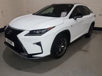 USED 2016 16 LEXUS RX 450H HYBRID ELECTRIC 1 Owner/Lexus History Just Serviced/Nav/Pan Roof/Camera