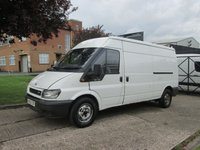 USED 2005 05 FORD TRANSIT 2.0TDCI T350 LWB SEMI HIGH ROOF. 125 BHP. PX TO CLEAR. GOOD RUNNER. SOLID EXAMPLE. BARGAIN VAN.